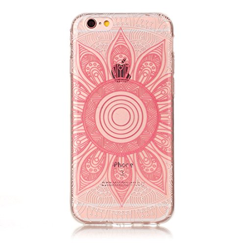 Yaking® Apple iPhone 6/6S Coque Silicone TPU Case Cover Gel Étui Housse pour Apple iPhone 6/6S 3-F