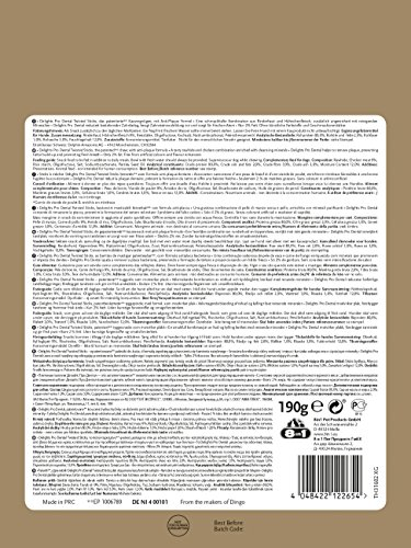 8in1 Delights Pro Dental Twisted Sticks (funktionaler und gesunder Kausnack, hochwertiges gedrehtes Hähnchenfleisch, Mineralien zur effektiven Plaqueentfernung bei Hunden), 35 Stück (190 g Beutel) - 4