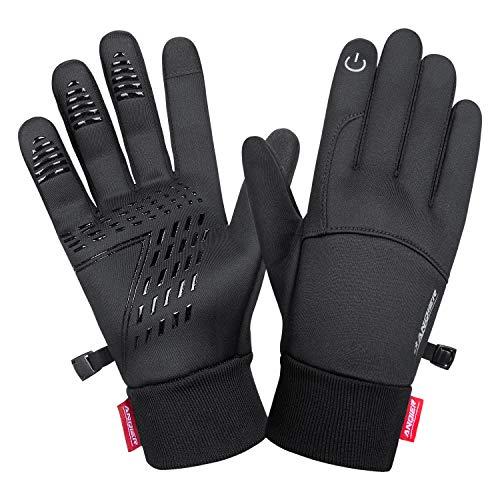 guanti di buffon coskefy Guanti da Ciclismo Moto Guanti Sportivi Invernali da Uomo e Donna Touch Screen Guanti Neve Mountain Termico Antivento Gloves Esterna da Lavoro Running Corsa Arrampicata