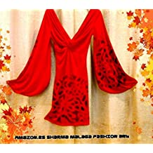 vestido medievo red