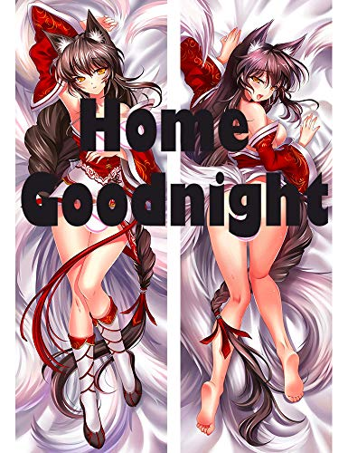 Home Goodnight Ahri - League of Legends 2 Way Tricot 160 x 50cm(62.9in x 19.6in) Kissenbezug