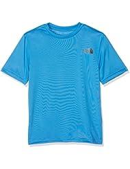The North Face T0CC0PW8G T-Shirt Garçon, Clear Lake Blue, FR : XL (Taille Fabricant : XL)