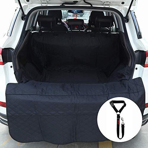 MAXTUF Hunde Kofferraumschutz Auto Hundedecke mit Ladekantenschutz Wasserdicht Hunde Schutzdecke Kofferraum Schutzdecke Kofferraumdecke Kofferraumschutzdecke