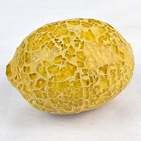 Mosaic Glass Lemon