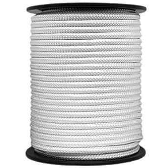 Nylonseil Polyamidseil Seil 3mm 100m geflochten Polyamid Perlon Nylon Tauwerk