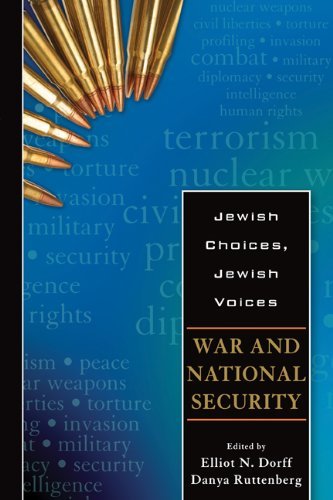 War and National Security (Jewish Choices, Jewish Voices) por Moses Hayyim Luzzatto