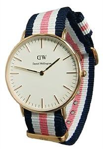 Daniel Wellington 0506DW - Reloj para Mujeres, Correa de Nailon de Daniel Wellington