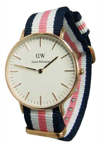 Daniel Wellington 0506DW – Reloj para mujeres, correa de nailon