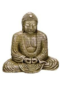 """Nobby 28197 Aquarium Dekoration Aqua Ornaments """"Buddha"""" L-15.5 x B-9.5 x H-15.5 cm"""