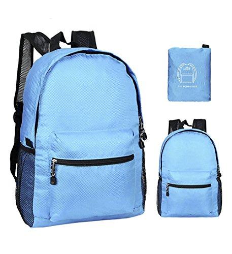 ZYPMM Die Hauptdruckfeder 2017 Modelle Umhängetasche faltbare Reisetasche ultraleichte Haut paket Blau