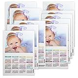 Fotocenter Calendarios Personalizados Poster 30 x 42 cm. - Imprime tu Pack de 10 calendarios idénticos.