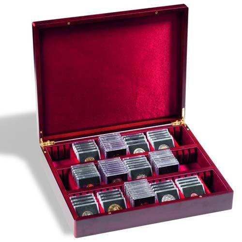 Leuchtturm 339637 VOLTERRA Vario 3 Sammelkassette | Aufbewahrungs-Box für Orden, Taschenuhren, Ü-Ei-Figuren, Münzen u.v.m. | Fachbreite 60 mm - Teure Taschenuhr