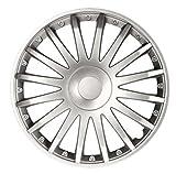 """Fussmatten-Deluxe Radkappen Radzierblenden Silber 16 Zoll 16"""" R16#CS# für Fast alle Standard - Stahlfelgen z.B. Volvo"""