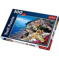 """Trefl 37145 """"Positano/Italy Puzzle (500-Piece)"""