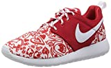 Nike Roshe One Print (Gs) Mädchen Laufschuhe, Rojo / Blanco / Negro (University Red / White-Black), EU 36.5 (US 4.5Y)