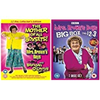 Mrs Brown's Boys / Brendan O'Carroll Complete BBC Series 1,2,3, & The 3 Christmas Specials (7 Disc Set) Plus Mrs Brown's Boys Original 8 Disc RTE Series & Brendan O'Carroll's Stand Up Collection