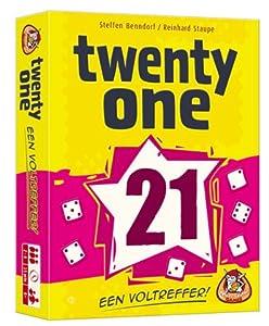 White Goblin Games Twenty One 21 Juego de Azar Niños y Adultos - Juego de Tablero (Juego de Azar, Niños y Adultos, 15 min, Niño/niña, 8 año(s), Holandés)