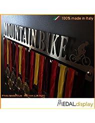Mountain Bike | Puerta medallas Mountain Bike/medallón de pared medaldisplay Medal Hanger, 600mm x 100mm x 3mm