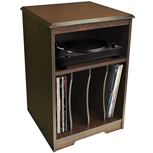 WATSONS AUDIO   Turntable/LP Record/Vinyl Storage Side End/Bedside Table    Walnut