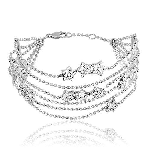 HISTOIRE D'OR - Bracelet Argent et Oxyde - Femme - Argent 925/1000