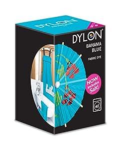 Dylon teinture textile pour machine laver bleu bahamas 350 g y compris le - Teinture machine a laver ...