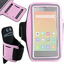 DURAGADGET Brazalete Deportivo Para Xiaomi Redmi Note 3   Neopreno - Hipoalergénico Y Antideslizante - En Color Rosa