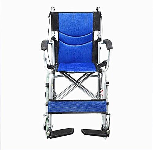 Mmyunx Leichter Rollstuhl Stahl Base + Breathable