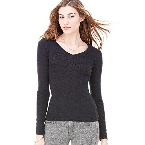 Bella - Andrea - leichtes Damen T-Shirt Langarm / Granite