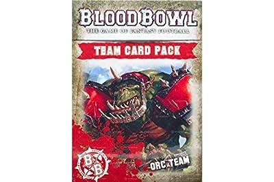 Jeux Atelier 60220909001Blood Bowl ORC Team Lot de cartes