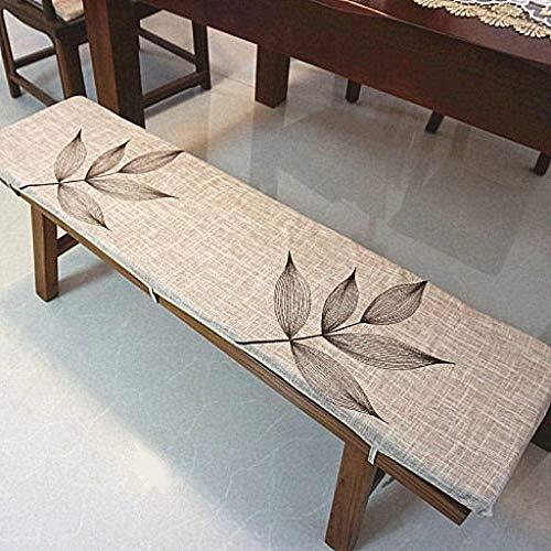 ZHI-HAN 长条凳坐垫,Outdoor Tau Direktor Stuhl Kissen Rechteckige Elastisch Ergonomische Geeignet Garten Schaukel -30 * 180cm-H -