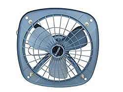 Alastor Ventilation Exhaust Fan with Copper Winding ( Gray) - 9 Inch