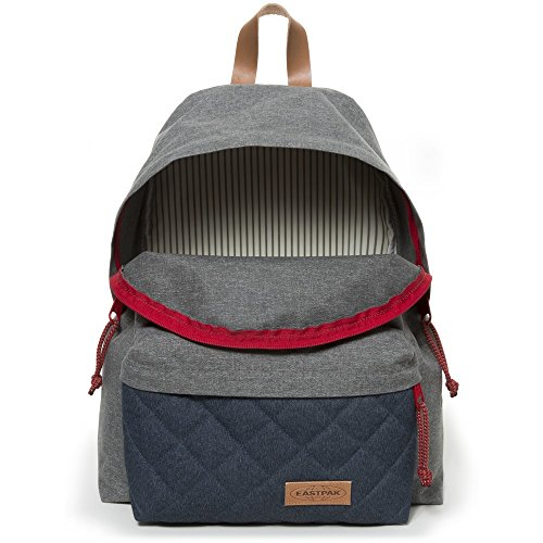 Eastpak Zaino Padded Pak'R Blu Intenso Blue, Brown, Grey, Red