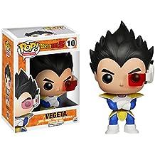 Funko PDF00003861 - Bobugt083 - Animación Figurita - Dragon Ball Z - Bobble Head Pop 10 Vegeta! - Figura Pop Vegeta 10 cm