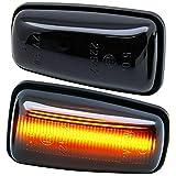 rm-style LED SEITENBLINKER schwarz Smoke [7607-1]