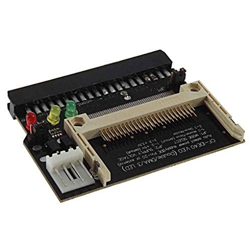 Compact Flash CF 3.5 Frauen 40 Pin IDE Bootable-Adapter-Konverter-Karte Kunststoff-IDE Adapter LUFA