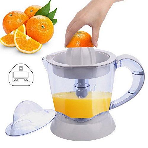 Busyall Zitruspresse 1 Liter Elektrisches Frucht Entsafter Saftpresse für Orange, Zitrone, Limettensaft - 40W