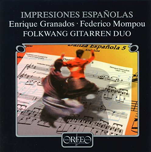 Impressions espagnoles. Duos pour guitares de Granados et Mompou. Folwang Guitarren Duo.