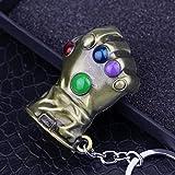 Portachiavi Il guanto dell'infinito Marvel Thanos Avengers Infinity War Bronzo