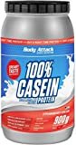 Body Attack 100% Casein Protein Strawberry Cream