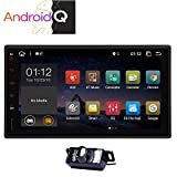 Android 10 Doppia 2 din stereo di navigazione GPS da 7 pollici capacitivo Muti-Touch Auto Radio in precipitare unità principale Audio Video Sistema di Supporto Remoto FM AM RDS telefono Specchio Wifi