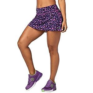 Zumba Fitness Damen La Gozadera Skort Fitness Overalls und Bodies Frauenhosen