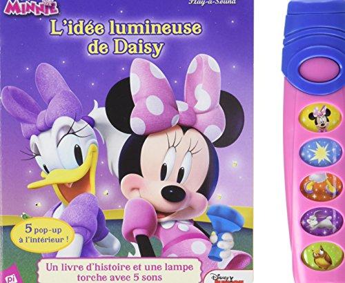 Minnie et Daisy en ombres et en lumières : Avec un livre d'histoire avec pop-up et une lampe torche avec 5 sons