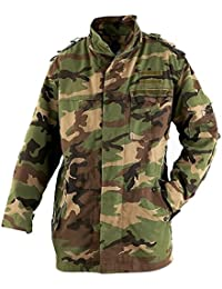 Genuine CZECH Army Issued M97 Woodland Camo Field Jacket GRADE 1