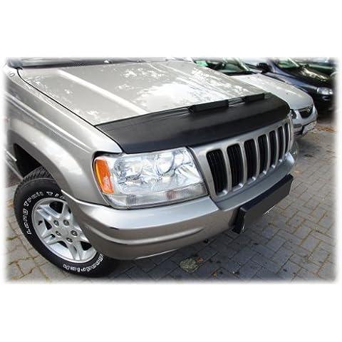 AB-00530 PROTECTOR DEL CAPO Jeep Grand Cherokee 1999-2004 Bonnet Bra TUNING