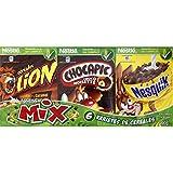 Nestlé Assortiment De 6 Variétés De Céréales, Lion, Chocapic, Nesquik, Chokella, Cookie Crisp - ( Prix Par Unité...