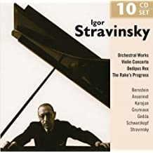 Portrait stravinsky dirige stravinsky