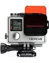 SANDMARC Aqua Filtre (Filter) pour GoPro: Dive et Scuba Filter Set accessoire pour GoPro Hero 4 / 3+ - 5 Pack - boîtier standard