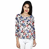 ORANGE PLUM Printed Women's Multicolor T...