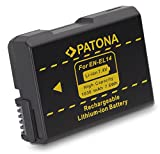 PATONA 1134 Lithium-Ion 1030mAh 7.4V batterie rechargeable - Batteries rechargeables (1030 mAh, 7,6 Wh, Lithium-Ion (Li-Ion), 7,4 V, Noir)