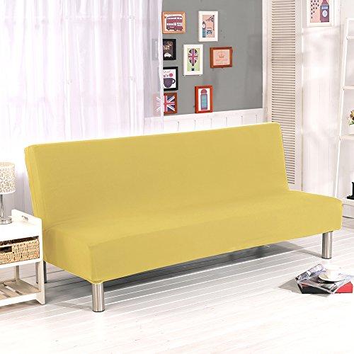 PROKTH Sofabezug Ecksofa Schlafsofa Klappsofa Sofaüberwurf Weich Elastisch Sofahusse (C)